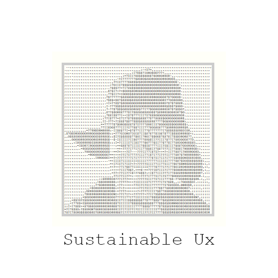 sustainable ux conference, a series on sustainable web and internet design and development