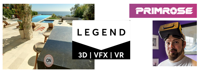Legend3D UX in VR App logo