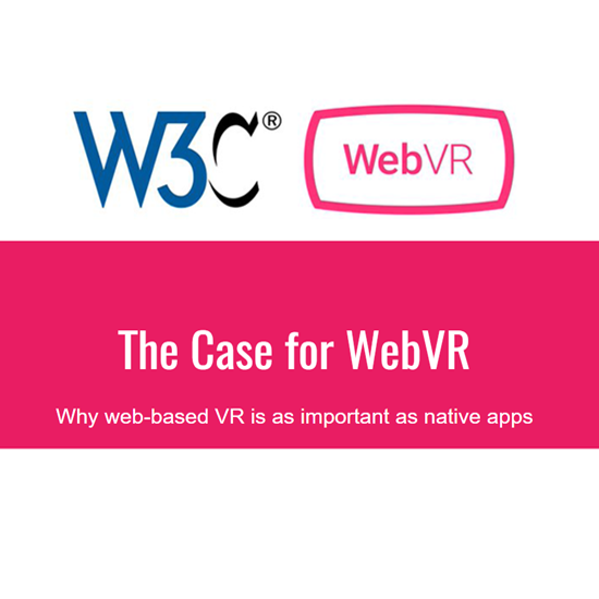 thumbnail slide from webvr presentation by Pete Markiewicz